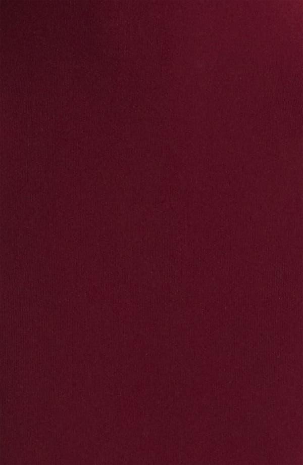 Alternate Image 3  - Valentino Ruffle & Velvet Detail Knit Dress