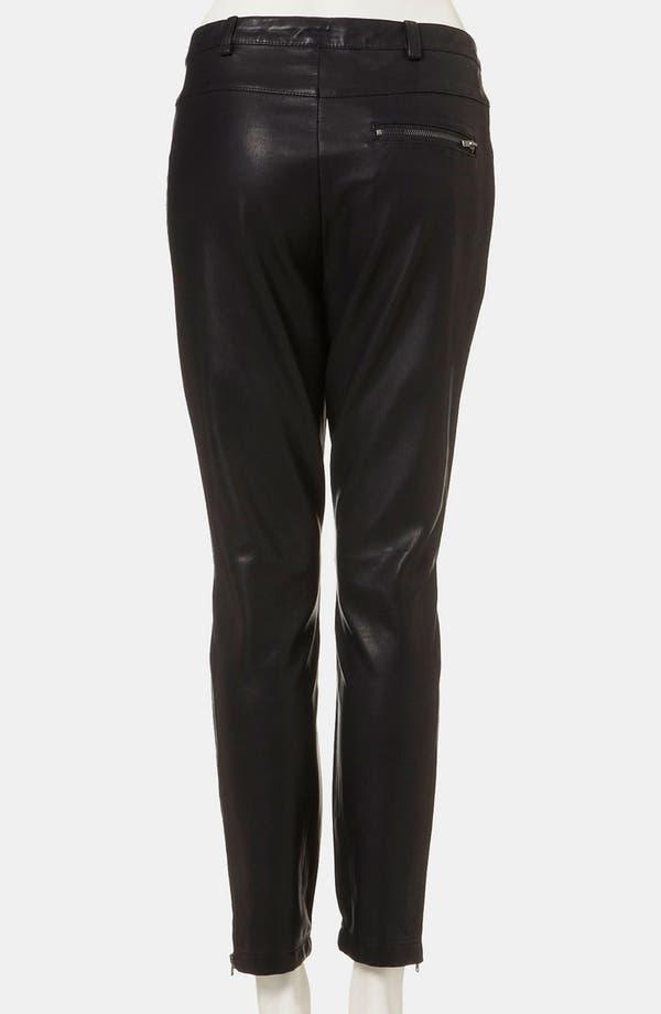 Alternate Image 2  - Topshop 'Kat' Faux Leather Biker Pants
