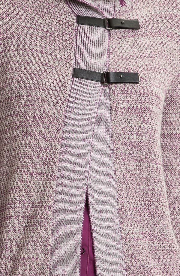 Alternate Image 3  - Lafayette 148 New York Tab Closure Sweater