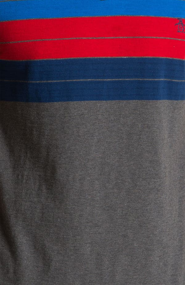 Alternate Image 3  - Original Penguin Chest Stripe Polo