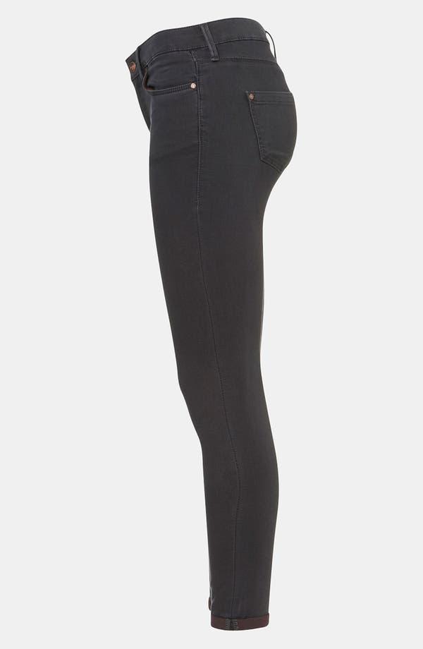 Alternate Image 4  - Topshop Moto 'Leigh' Skinny Jeans (Petite)