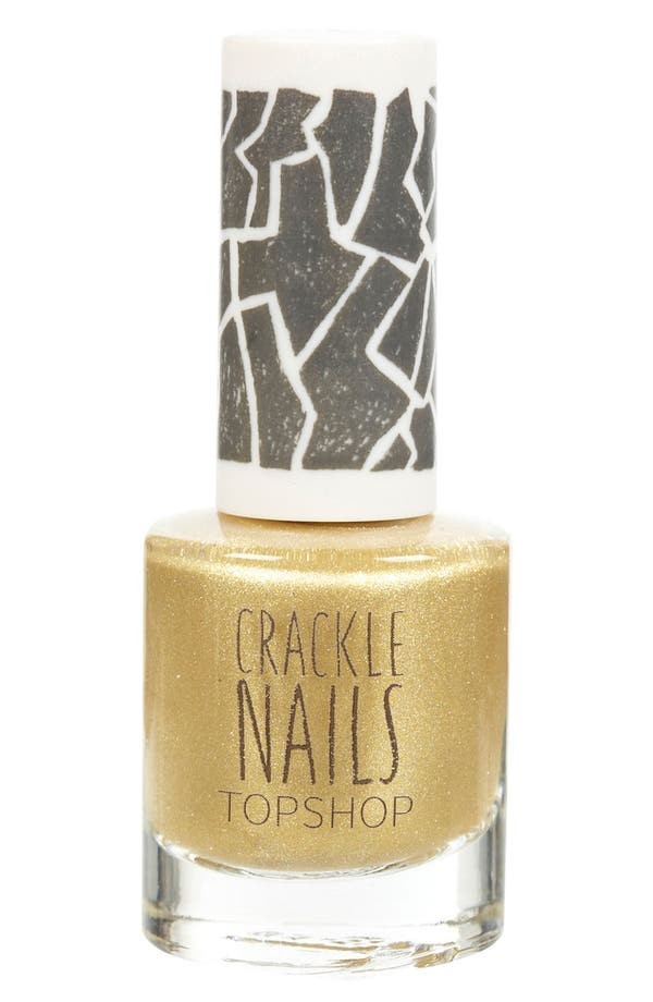 Alternate Image 1 Selected - Topshop 'Crackle' Nail Polish
