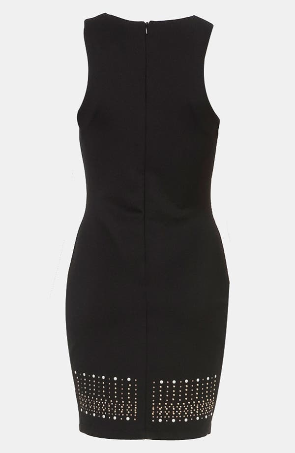 Alternate Image 2  - Topshop Studded Body-Con Dress