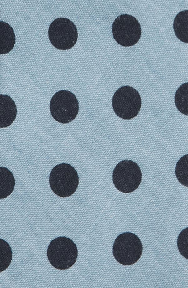 Alternate Image 2  - Topman Dot Chambray Woven Tie