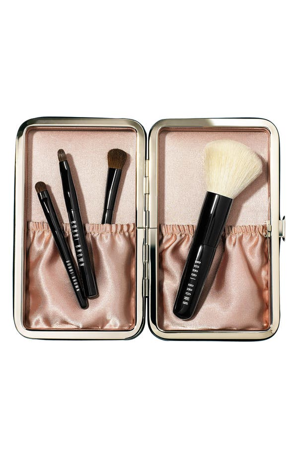 Alternate Image 1 Selected - Bobbi Brown 'Caviar & Oyster' Mini Brush Set