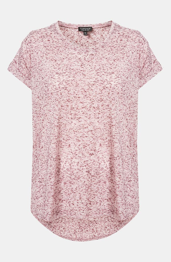 Alternate Image 1 Selected - Topshop 'Neppy' Slub Knit Tee