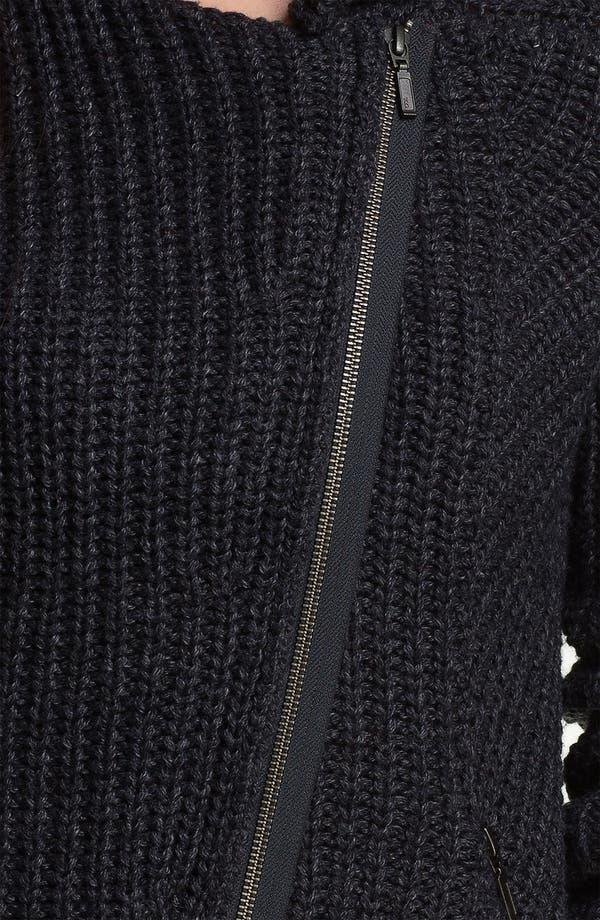 Alternate Image 3  - Caslon® Moto Sweater Jacket