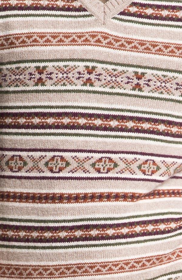 Alternate Image 3  - Fiesole V-Neck Wool Blend Sweater Vest