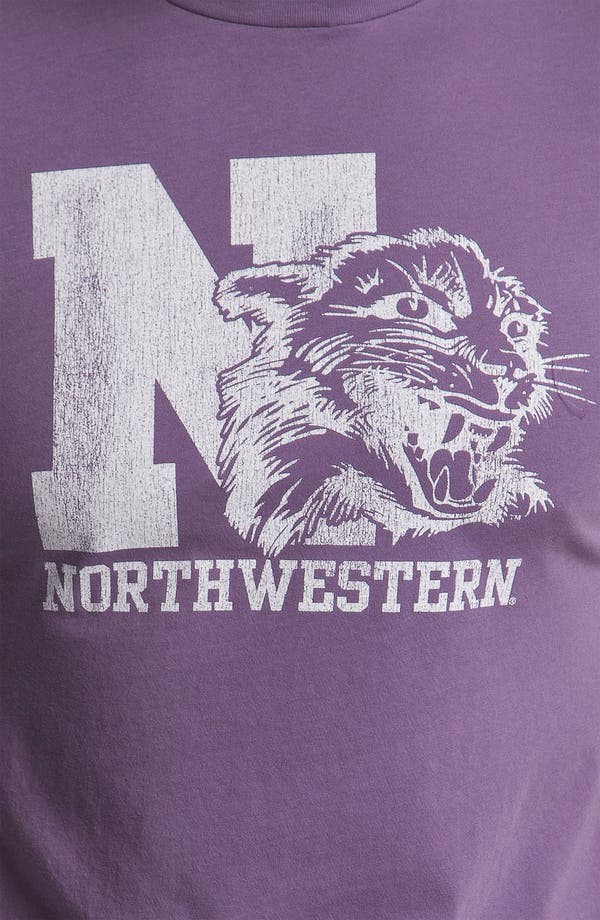 Alternate Image 3  - The Original Retro Brand 'Northwestern Wildcats' T-Shirt