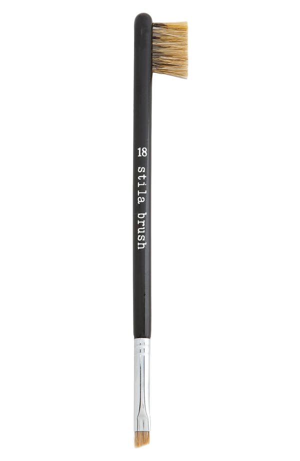 Alternate Image 1 Selected - stila #18 double sided brow brush