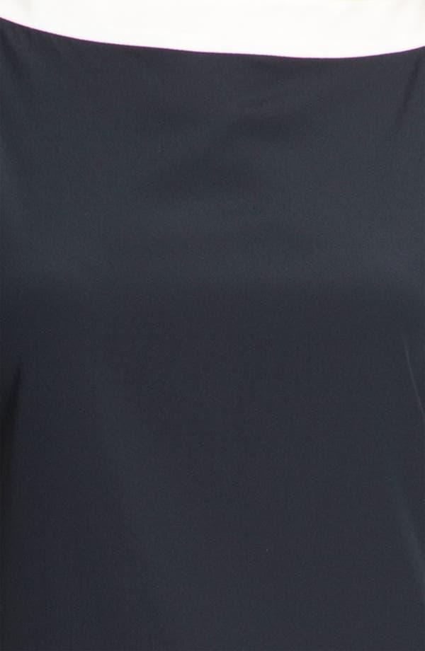 Alternate Image 4  - St. John Collection Stretch Silk Blouse