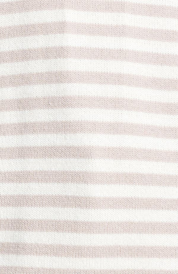 Alternate Image 3  - Max Mara 'Auronzo' Striped Cashmere & Cotton Sweater