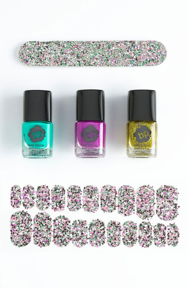 Alternate Image 1 Selected - BP. 'Glitter' Nail Set