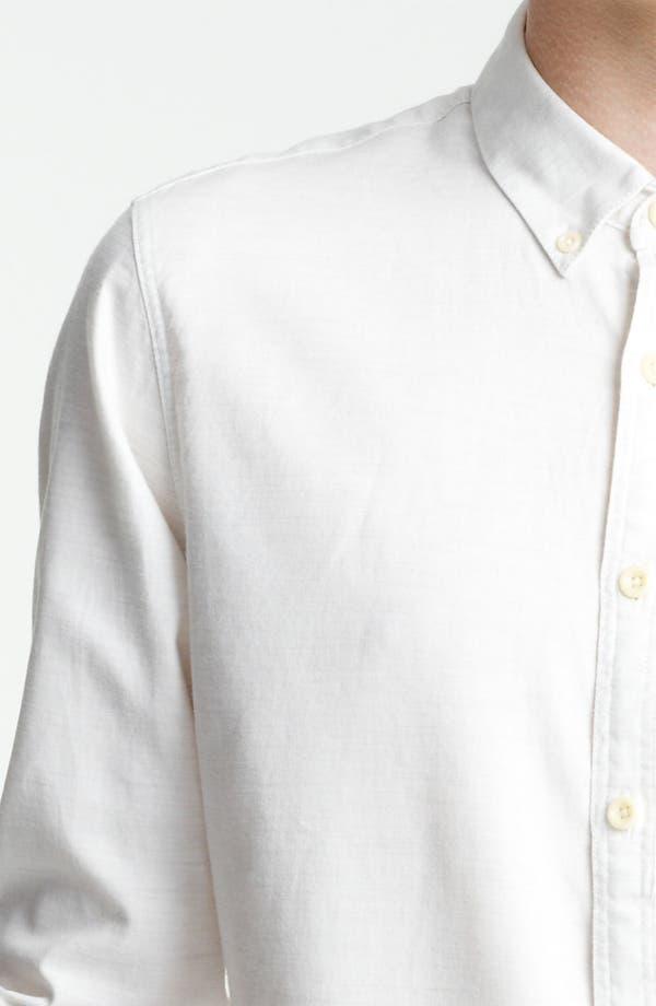 Alternate Image 3  - Topman Cotton Flannel Shirt