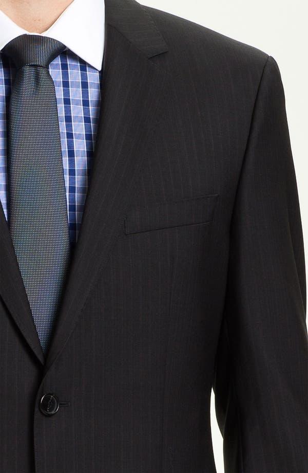 Alternate Image 5  - BOSS Black 'James/Sharp' Trim Fit Stripe Suit