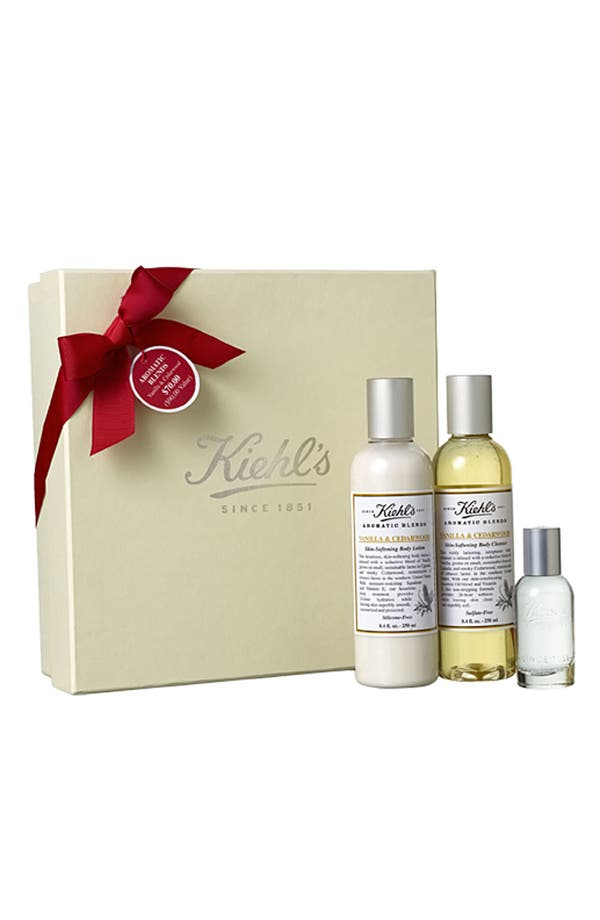 Alternate Image 1 Selected - Kiehl's Since 1851 'Aromatic Blends - Vanilla & Cedarwood' Set ($90 Value)