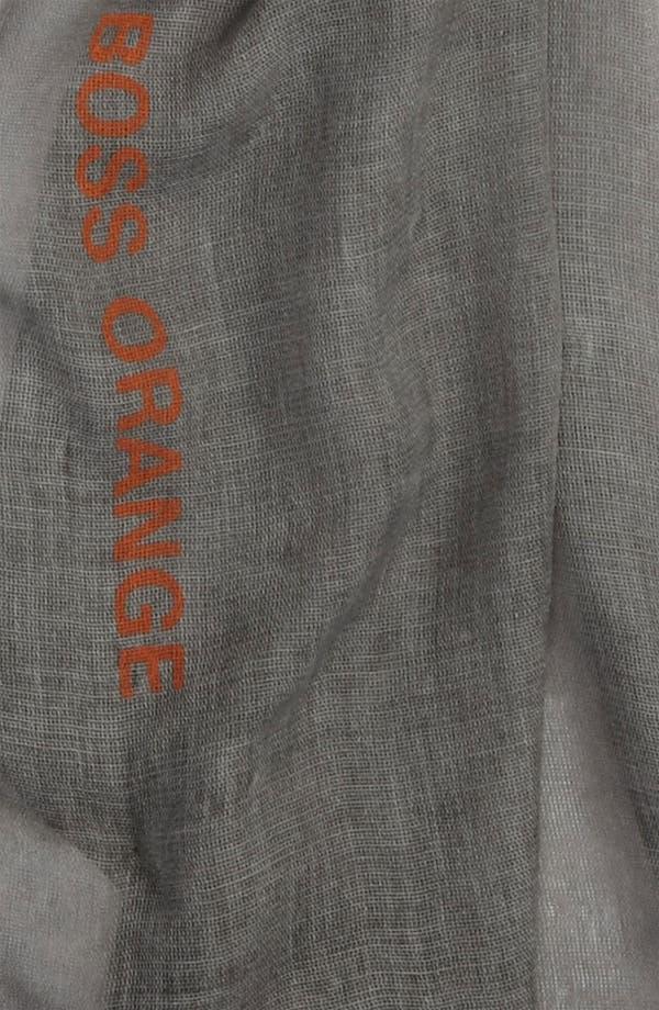 Alternate Image 2  - BOSS Orange Lightweight Scarf