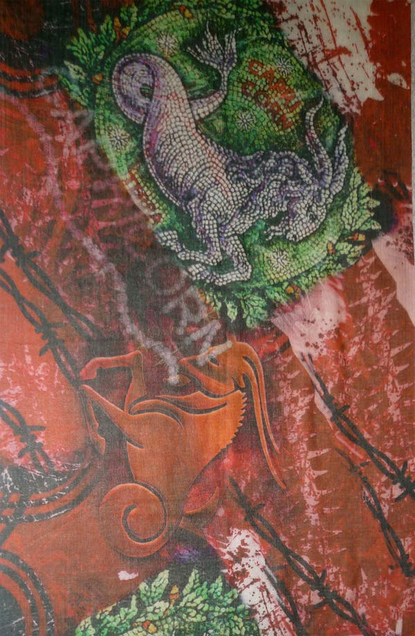 Alternate Image 3  - Shawlux 'Capricorn' Cashmere & Silk Scarf