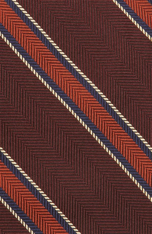 Alternate Image 2  - Brooks Brothers Woven Silk Tie