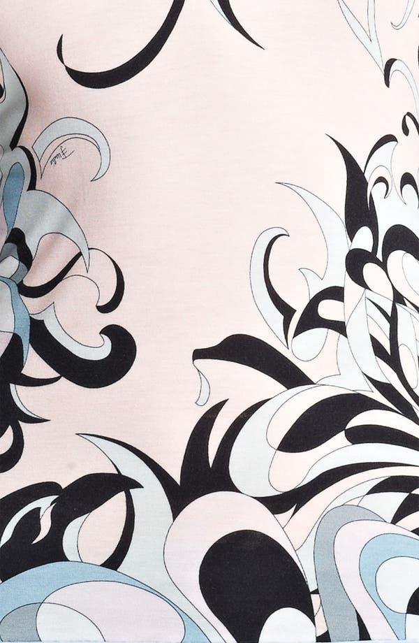Alternate Image 3  - Emilio Pucci Floral Print Jersey Top