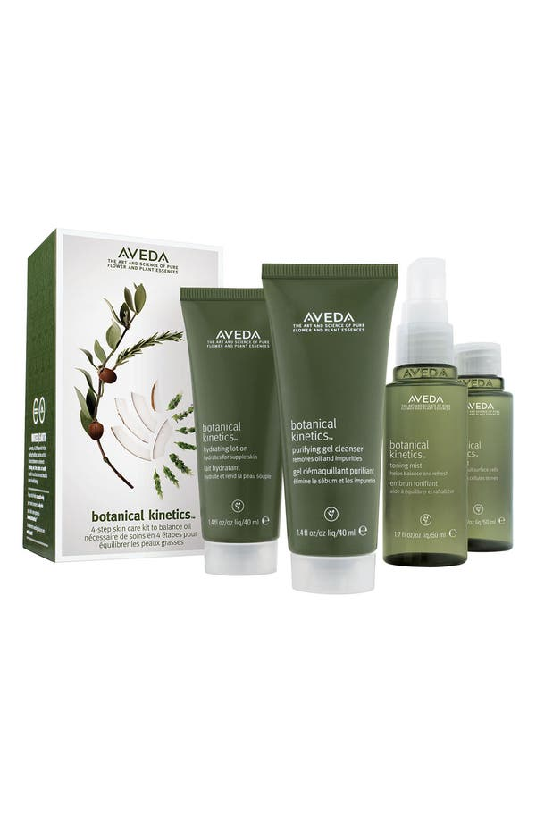Main Image - Aveda 'botanical kinetics™' Skincare Starter Set (Oily/Normal)