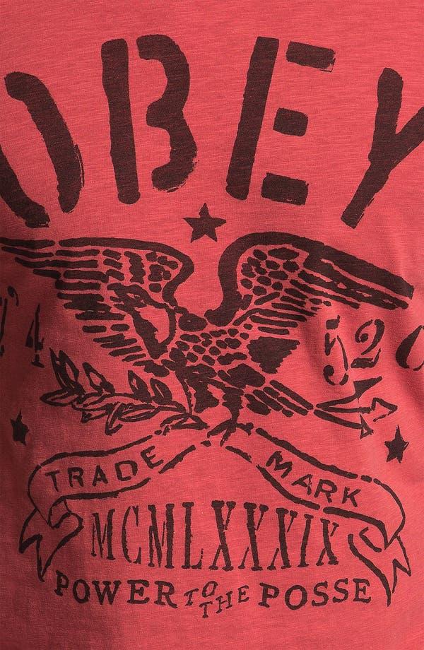 Alternate Image 3  - Obey 'Trademark Eagle' T-Shirt