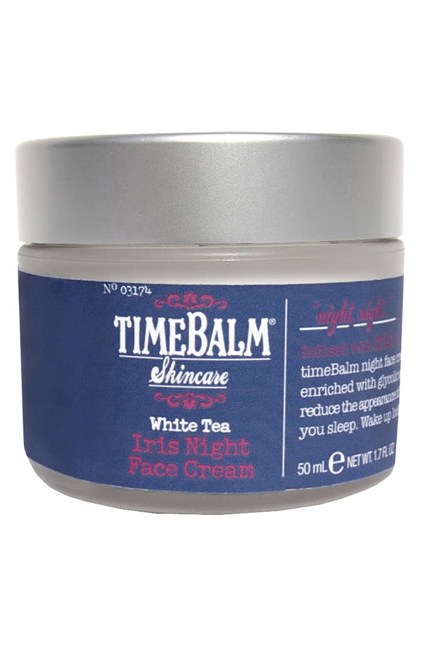 Main Image - theBalm® 'TimeBalm®' Iris Night Face Cream