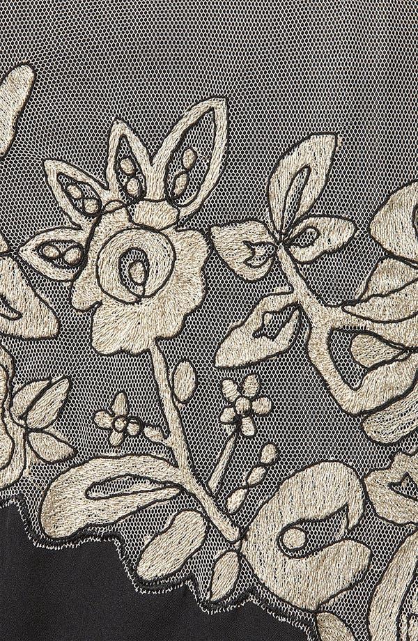 Alternate Image 3  - Topshop Vintage Lace Dress