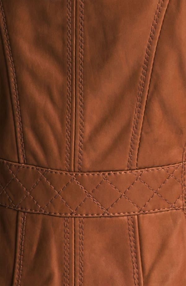 Alternate Image 3  - MICHAEL Michael Kors Hooded Leather Jacket