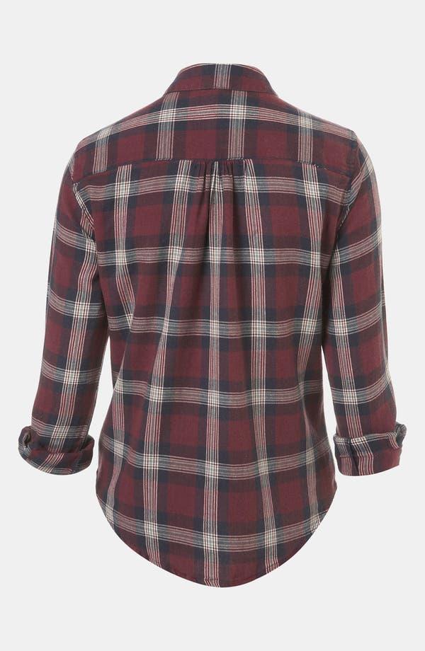 Alternate Image 2  - Topshop 'Charleston' Plaid Shirt