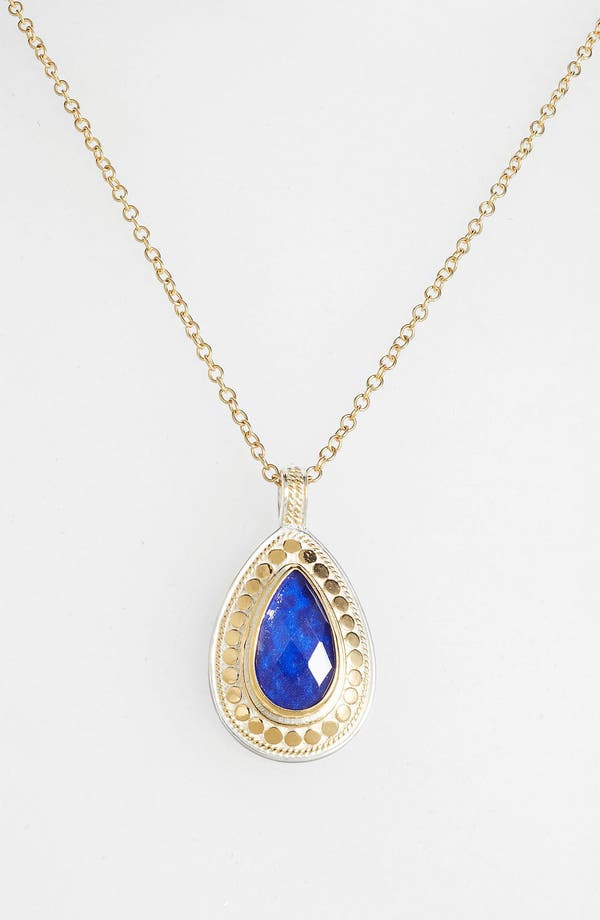 Alternate Image 2  - Anna Beck 'Gili' Wire Rimmed Teardrop Pendant Necklace (Nordstrom Exclusive)