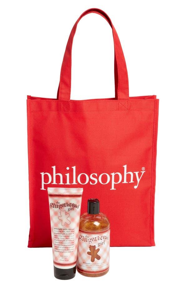 Main Image - philosophy 'the gingerbread girl' doorbuster bag duo ($40 Value)