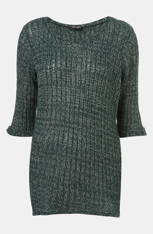 Alternate Image 1 Selected - Topshop 'Fisherman Text' Sweater