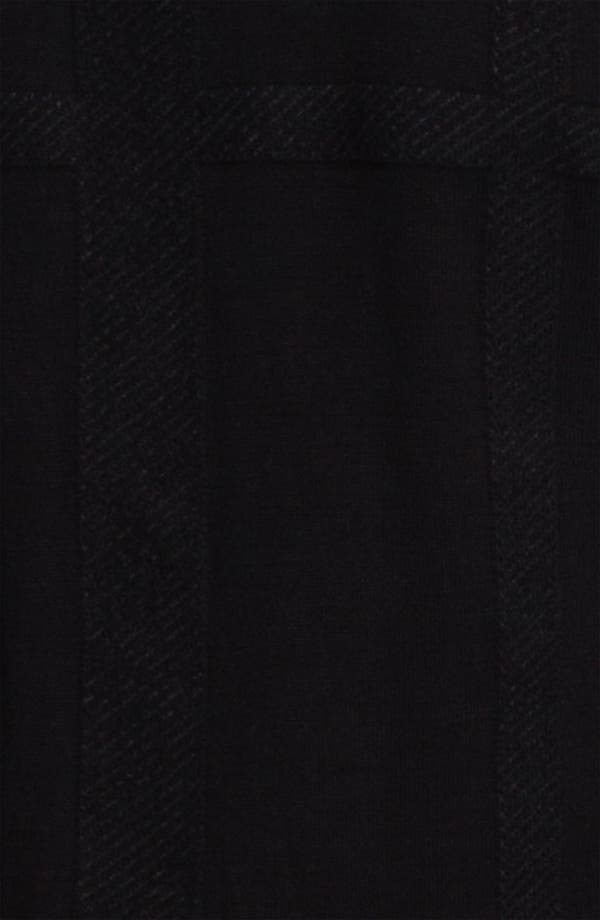 Alternate Image 3  - Eileen Fisher Gridded Mix Media Cardigan