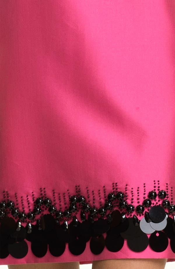Alternate Image 3  - St. John Collection Mikado Hand Beaded Dress