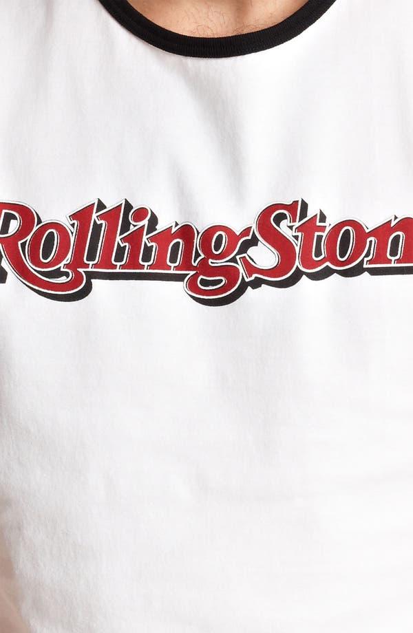 Alternate Image 3  - Dolce&Gabbana 'Rolling Stone' Ringer T-Shirt