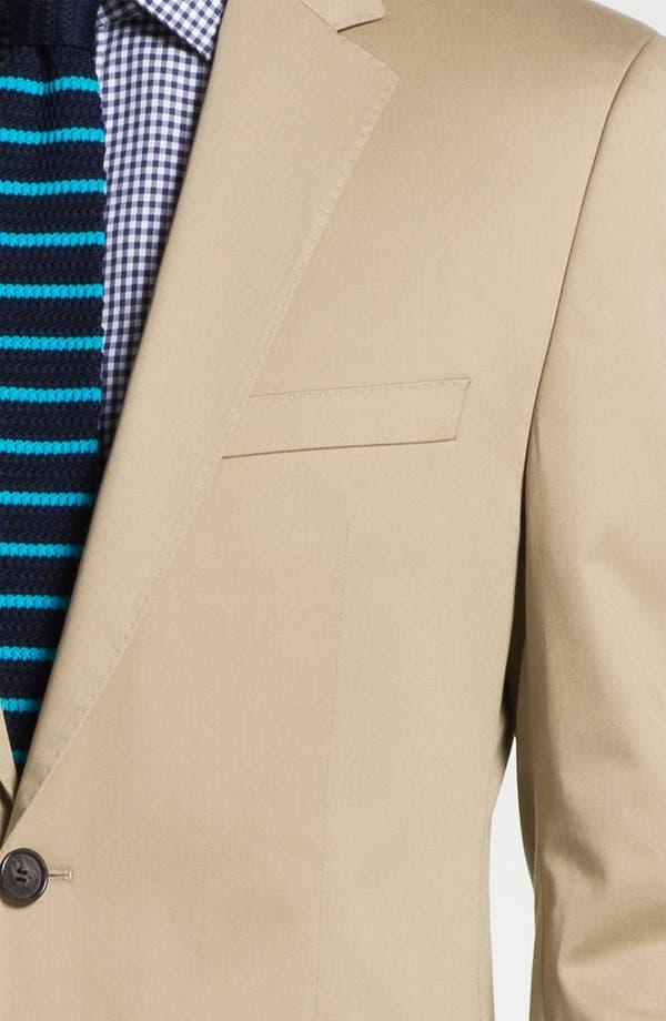 Alternate Image 2  - BOSS Black 'James/Sharp' Cotton Suit