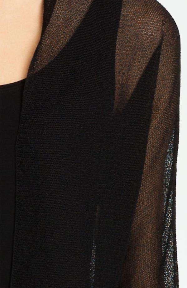 Alternate Image 3  - Eileen Fisher Sheer Shrug (Petite)