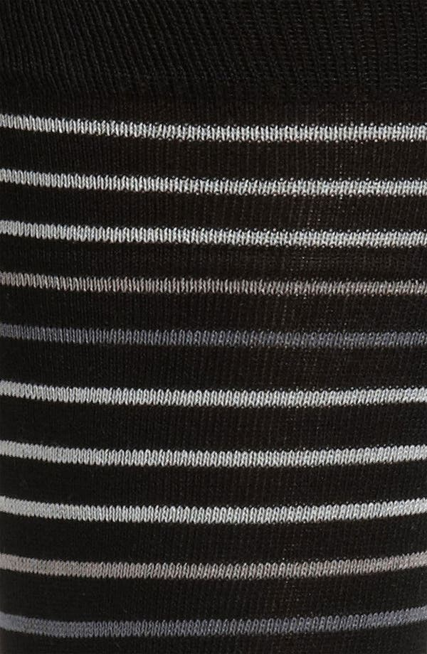 Alternate Image 2  - Bugatchi Uomo Stripe Socks