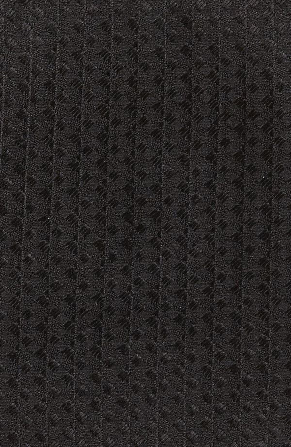Alternate Image 2  - Yves Saint Laurent Textured Stripe Silk Woven Tie