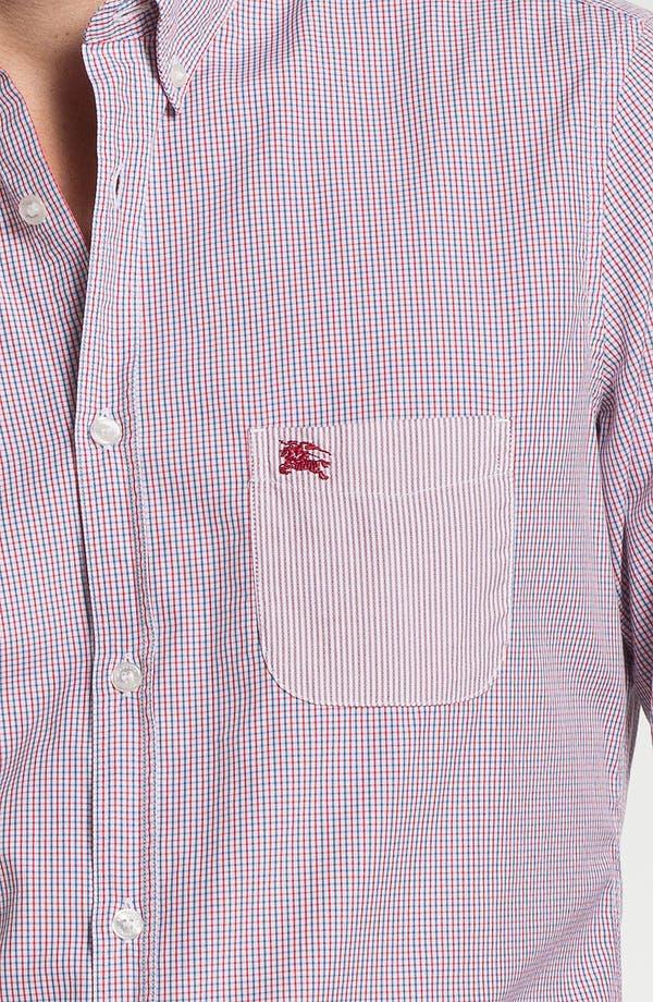 Alternate Image 3  - Burberry Brit Tattersall Check Sport Shirt