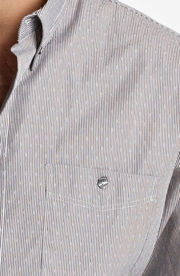 Alternate Image 3  - Dolce&Gabbana Microstripe Woven Shirt