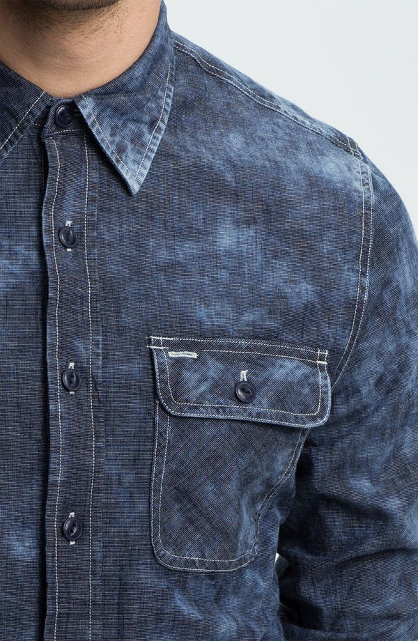 Alternate Image 3  - True Religion Brand Jeans Workwear Denim Shirt