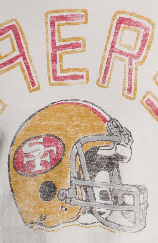 Alternate Image 3  - Junk Food 'San Francisco 49ers' Raglan Sleeve T-Shirt