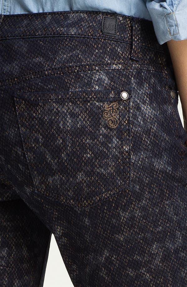Alternate Image 3  - Jessica Simpson 'Forever' Snakeskin Print Skinny Jeans (Online Exclusive)