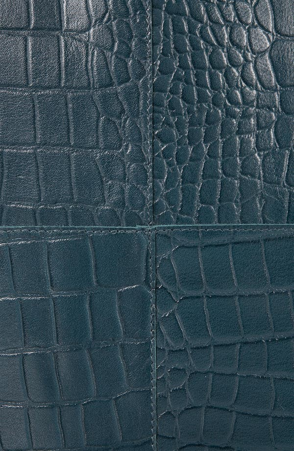 Alternate Image 4  - Topshop 'Lady' Croc Embossed Tote