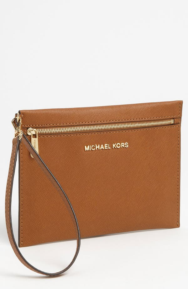 Alternate Image 1 Selected - MICHAEL Michael Kors 'Jet Set - Large' Travel Pouch