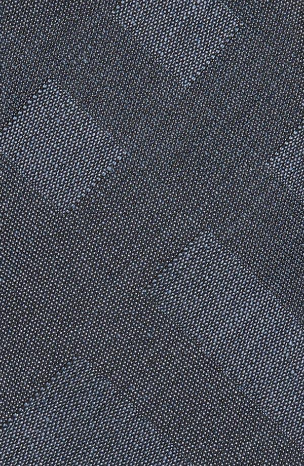 Alternate Image 2  - Burberry London Woven Silk & Linen Tie
