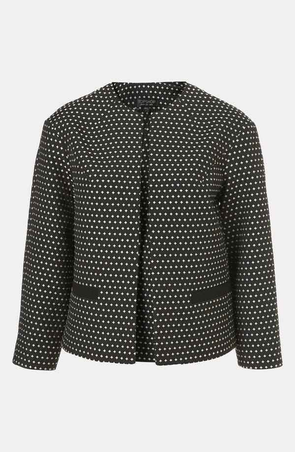 Alternate Image 1 Selected - Topshop Star Jacquard Jacket