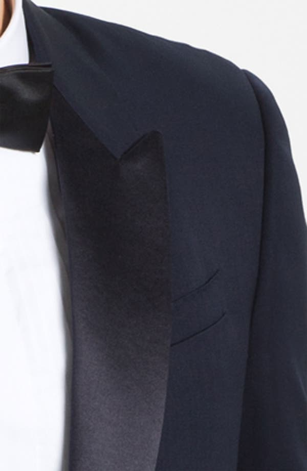 Alternate Image 3  - Burberry Prorsum Peak Lapel Tuxedo Jacket